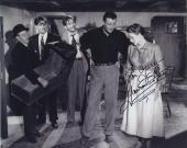 Maureen O'hara Signed Autographed Bw 8x10 Photo For Mary With John Wayne