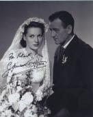 Maureen O'hara Signed Autographed Bw 8x10 Photo For Patrick With John Wayne