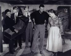 Maureen O'hara Signed Autographed Bw 8x10 Photo With John Wayne Stunning!!!