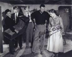 Maureen O'hara Signed Autographed Bw 8x10 Photo With John Wayne Wow!!