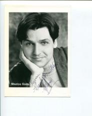 Maurice Godin House M.D. Friends Seinfeld Working Outer Limits Signed Photo