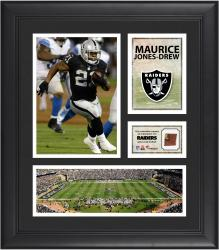 Maurice Jones-Drew Oakland Raiders Framed 15'' x 17'' Collage with Game-Used Football