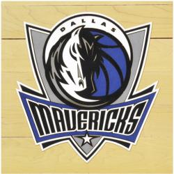 "NBA Dallas Mavericks 12"" x 12"" Logo Floor Piece"