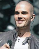 MAX GEORGE signed *THE WANTED* Music 8X10 photo (CHASING THE SUN) W/COA
