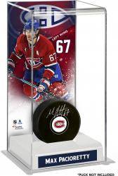 Max Pacioretty Montreal Canadiens Deluxe Tall Hockey Puck Case