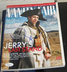 May 1998 Jerry Seinfeld TV Legend Comedian SIGNED Vanity Fair Magazine JSA/COA