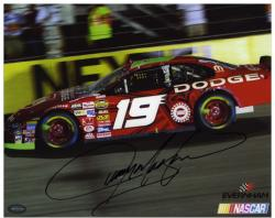 "Jeremy Mayfield Autographed 8"" x 10"" Photo - Mounted Memories"