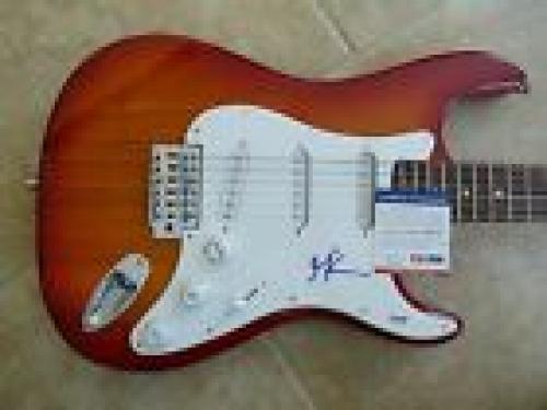 Maynard James Keenan TOOL Signed Autographed Guitar Squier Bullet PSA Certified