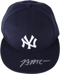 Brian McCann New York Yankees Autographed New Era Cap - Mounted Memories