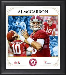 "AJ McCarron Alabama Crimson Tide Framed 15"" x 17"" Core Composite Photograph"