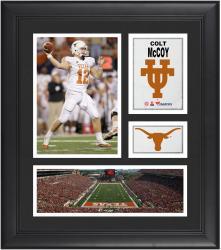 """Colt McCoy Texas Longhorns Framed 15"""" x 17"""" Collage"""