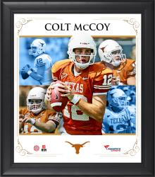 "Colt McCoy Texas Longhorns Framed 15"" x 17"" Core Composite Photograph"