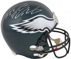 LeSean McCoy Philadelphia Eagles Autographed Riddell Replica Helmet - Mounted Memories