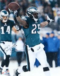 "LeSean McCoy Philadelphia Eagles Autographed 16"" x 20"" Snow Celebration Photograph"