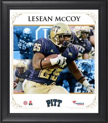 "LeSean McCoy Pittsburgh Panthers Framed 15"" x 17"" Core Composite Photograph"