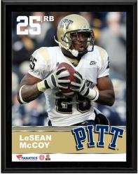 """Lesean McCoy Pittsburgh Panthers Sublimated 10.5"""" x 13"""" Plaque"""