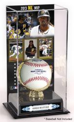 Andrew McCutchen Pittsburgh Pirates 2013 National League MVP Award Gold Glove with Image Display Case
