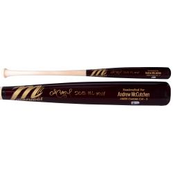 Andrew McCutchen Pittsburgh Pirates Autographed Marucci Bat with 2013 NL MVP Inscription - Mounted Memories