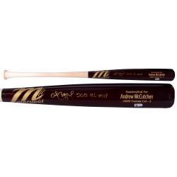 Andrew McCutchen Pittsburgh Pirates Autographed Marucci Bat with 2013 NL MVP Inscription