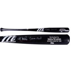 Andrew McCutchen Pittsburgh Pirates Autographed Game-Used Marruchi Bat with Game Used 2013 Inscription