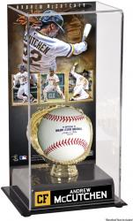Andrew McCutchen Pittsburgh Pirates Gold Glove Baseball Display Case