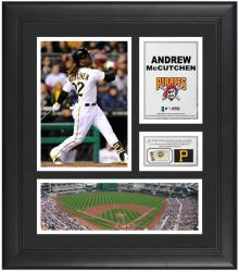 "Andrew Mccutchen Pittsburgh Pirates Framed 15"" x 17"" Collage with Game-Used Baseball"