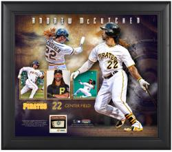 "Andrew McCutchen Pittsburgh Pirates Framed 15"" x 17"" Collage with Game-Used Ball-Limited Edition of 500"