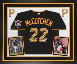 Mccutchen, Andrew Frmd Auto (deluxe) (ath/maj/blk) (mlb) Jsy