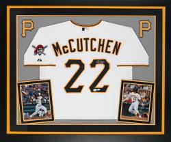 Mccutchen, Andrew Frmd Auto (deluxe) (ath/maj/wht) (mlb) Jsy