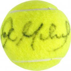 John McEnroe Autographed US Open Logo Tennis Ball
