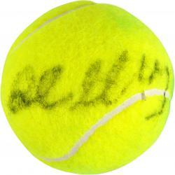 John McEnroe Autographed Wimbledon Logo Tennis Ball
