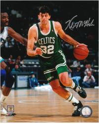"""Kevin McHale Boston Celtics Autographed 8"""" x 10"""" Dribbling Photograph"""