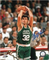 "Kevin McHale Boston Celtics Autographed 8"" x 10"" Jumper Photograph"
