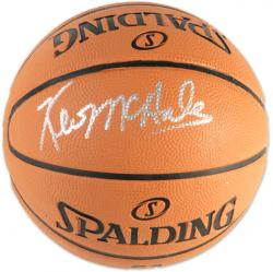 Kevin McHale Boston Celtics Autographed Spalding Mini Basketball - Mounted Memories