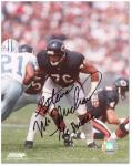 Chicago Bears Steve McMichael Autographed 8'' x 10'' Photograph - Mounted Memories
