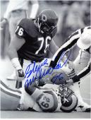 Chicago Bears Steve McMichael Autographed 8'' x 10'' Photograph - - Mounted Memories
