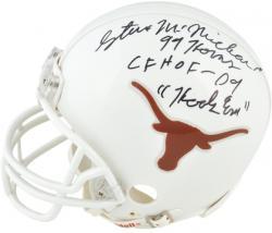Steve McMichael Autographed Mini Helmet - Mounted Memories
