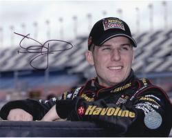 MCMURRAY, JAMIE AUTO (VALVOLINE/SMILING) 8X10 PHOTO - Mounted Memories