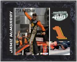 Jamie McMurray 2010 Brickyard 400 8'' x 10'' Color Plaque - Mounted Memories