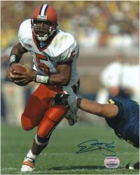 "Donovan McNabb Syracuse Orange Autographed 8"" x 10"" Photograph"