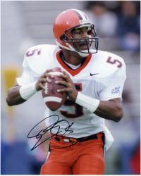 "Donovan McNabb Syracuse Orange Autographed 8"" x 10"" Photograph -"