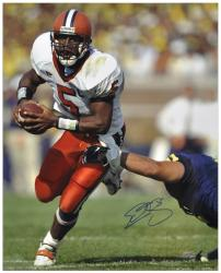 "Donovan McNabb Syracuse Orange Autographed 16"" x 20"" Photograph - Mounted Memories"