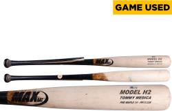 MEDICA, TOMMY GAME USED (MAX BAT) (9/23/13) BROKEN BAT (MLB) - Mounted Memories