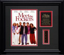 MEET THE FOCKERS FRAMED PHOTO w/FILM STRIP AND PLATE