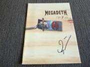 Megadeth Dave Ellefson Risk Autograph Signed Tour Book Program PSA Guaranteed #2