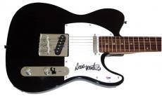 Megadeth Dave Mustaine Autograph Signed Guitar Proof PSA/DNA AFT AFTAL