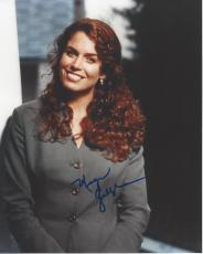 "MEGAN GALLAGHER - Her TV Roles have Included ""HILL STREET BLUES"", ""CHINA BEACH"", ""THE LARRY SANDERS SHOW"" and ""MILLENNIUM"" Signed 8x10 Color Photo"