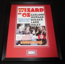 Meinhardt Raabe Signed Framed 11x14 Photo Display JSA Wizard of Oz