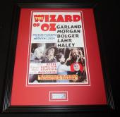 Meinhardt Raabe Signed Framed 11x14 Photo Display JSA Wizard of Oz