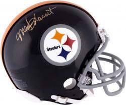 Mel Blount Pittsburgh Steelers Autographed Riddell Mini Helmet